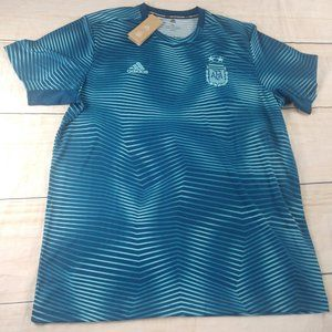 Argentina AFA Soccer Adidas Parley  Jersey XL New